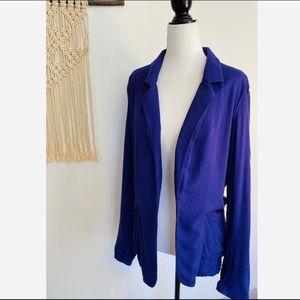 Aritzia's Talula Kent Purple Blazer size 8 women's